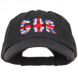 United Kingdom GBR Flag Embroidered Low Profile Cap