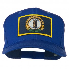 Kentucky State High Profile Patch Cap