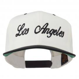 Los Angeles Embroidered Snapback Cap