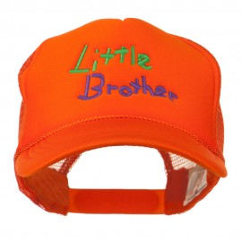 Little Brother Embroidered Youth Foam Mesh Cap