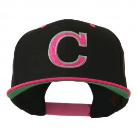 Large C Outline Embroidered Cap