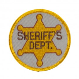 Law Enforcement Embroidered Military Patch - Sheriffs