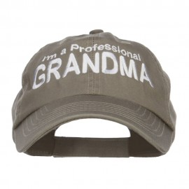 I'm a Professional Grandma Embroidered Low Cap