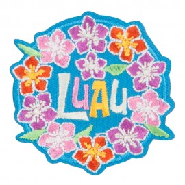 LUAU Hawaiian Patches