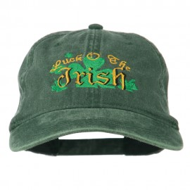 Luck O' the Irish Embroidered Pigment Dyed Cap