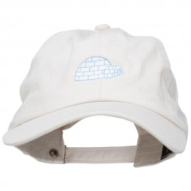 Igloo Embroidered Unstructured Washed Cap