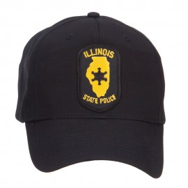 Illinois State Police Patched Cap