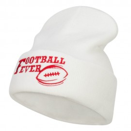Football Fever Embroidered Long Beanie