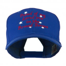 Loved One in Armed Forces Embroidered Cap
