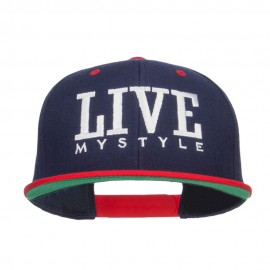 Live Mystyle Embroidered Two Tone Snapback