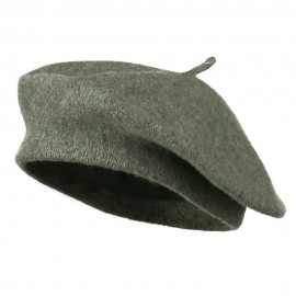 Ladies Wool Beret - Grey