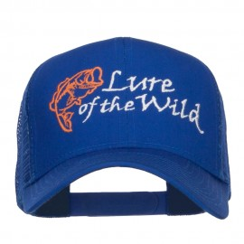 Lure of the Wild Embroidered Mesh Cap