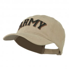 US Military Applique Unconstructed Cap