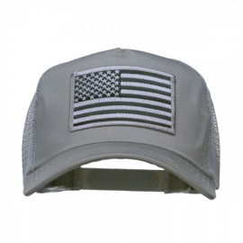 American Flag Patch 5 Panel Mesh Cap