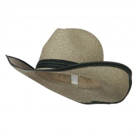 Metallic Women's Paper Cowboy Hat
