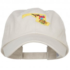 USA State Maryland Patched Low Profile Cap