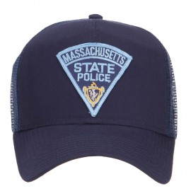 Massachusetts State Police Patched Mesh Cap