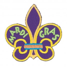 Mardi Gras Fun Patches