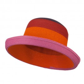 Multi Color Fashion Hat