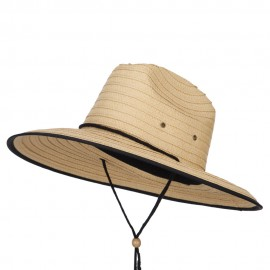 Men's Paper Braid Life Guard Hat