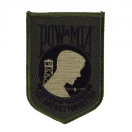 Pow Mia Embroidered Military Patch - Pow Subdue