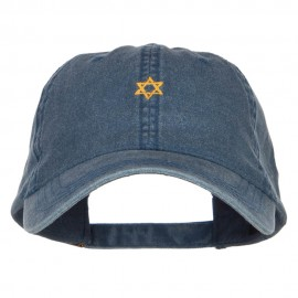 Mini Jewish Star of David Embroidered Cap