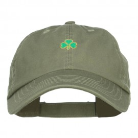 Mini Shamrock Embroidered Pet Spun Cap