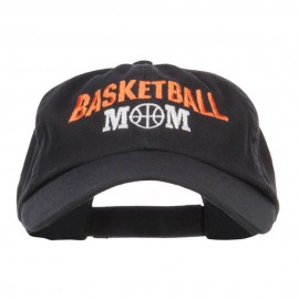 Basketball Mom Embroidered Low Profile Cap