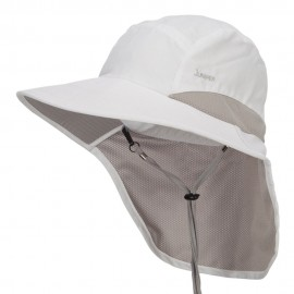 Microfiber UV Large Bill Flap Hat