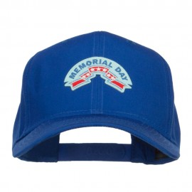 Memorial Day Ribbon Patched Cap