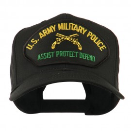 US Army Military Police Large Patch Cap - Army Police
