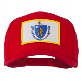Massachusetts State High Profile Patch Cap