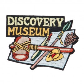 Museum Embroidered Patches