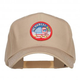 Memorial Day Flag Patched Cap