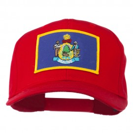 Eastern State Maine Embroidered Patch Cap