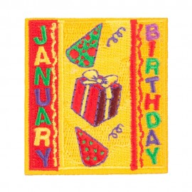 Month Birthday Patches