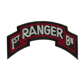 Military Related Text Embroidered Patch