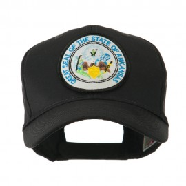 Mid State Seal Embroidered Patch Cap