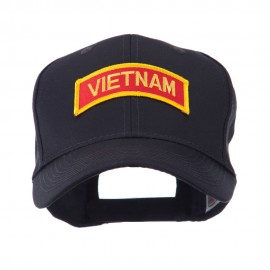 Military Related Text Embroidered Patch Cap