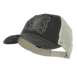 US Military University Vintage Mesh Back Cap