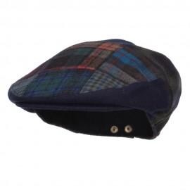 Men's Mix Wool Blend Ivy Cap