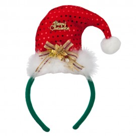 Merry Christmas Santa Hat Headband