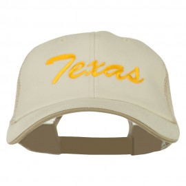 Mid State Texas Big Embroidered Mesh Cap