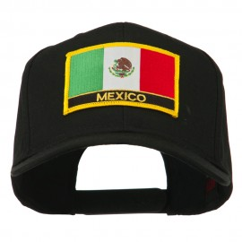 Mexico Flag Letter Patched High Profile Cap