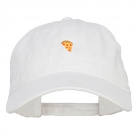 Mini Pizza Embroidered Washed Cap