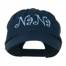 Wording of NaNa Embroidered Cap