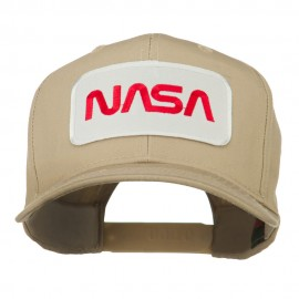 NASA Logo Embroidered Patched Cap