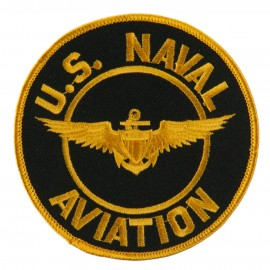 US Navy Circular Large Patch - Naval Aviation