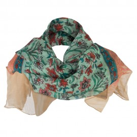 India Motif Summer Scarf