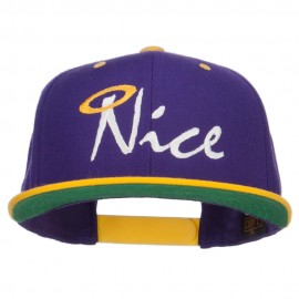 Nice Embroidered Two Tone Snapback